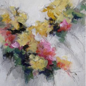 """""""Floral 5"""", 8x10, price on request"""