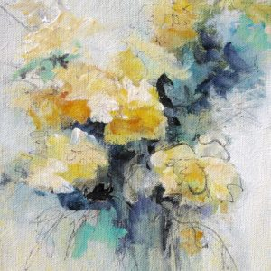 """""""Floral 6"""", 8x10, price on request"""