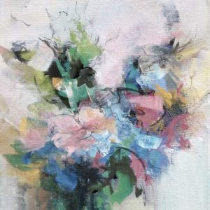 """""""Floral 7"""", 8x10, price on request"""