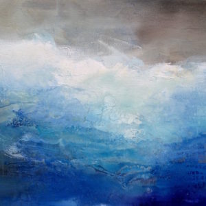 """Ombre Blue"", 24x30, price on request"