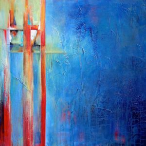 """Out of the Blue Expanded Version"", 36x48, price on request"