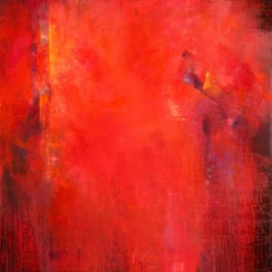 """Red Fusion"", 42x48, price on request"