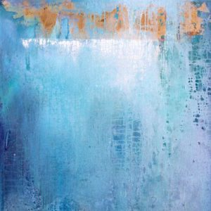 """Wrapped Up in Blue"", 30x48, price on request"